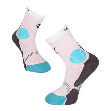 Чорапи Pirin Hill Try To Fly Tennis Socks (бяло & синьо)