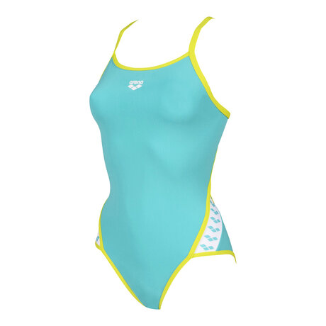 Дамски бански Arena Team Super Fly Swimsuit (тюркоаз)