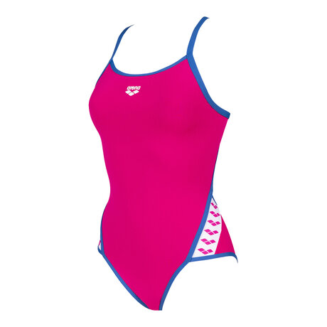 Дамски бански Arena Team Super Fly Swimsuit (розов)