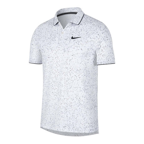 Поло Nike Court Dri-FIT Printed Polo (бяло)