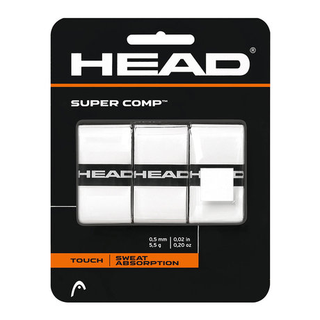 Покривен грип Head Super Comp (бял)