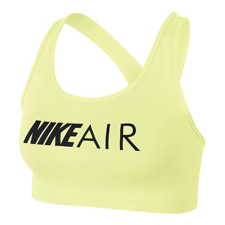 Спортен сутиен Nike Air Swoosh Graphic Sports Bra (жълт)