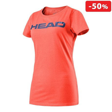 Дамска тениска Head Transition Lucy T-Shirt (корал)