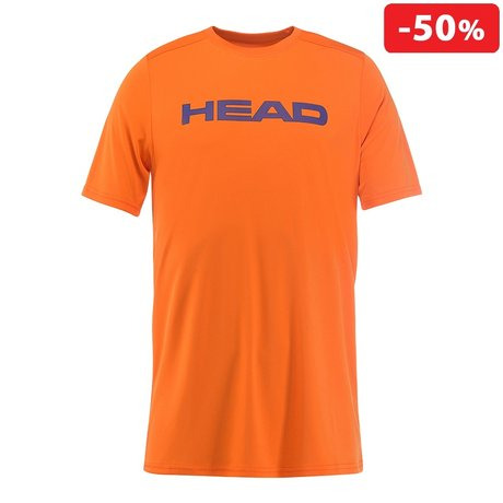Детска тениска Head Tech T-Shirt (оранжева)