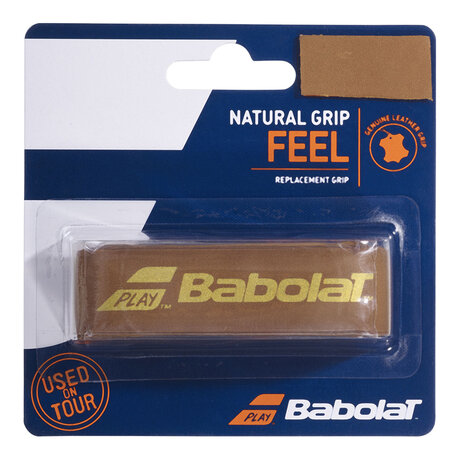 Основен грип Babolat Natural Grip (кафяв)