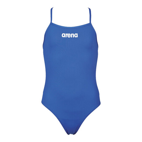 Детски бански Arena Solid Lighttech Swimsuit (син)