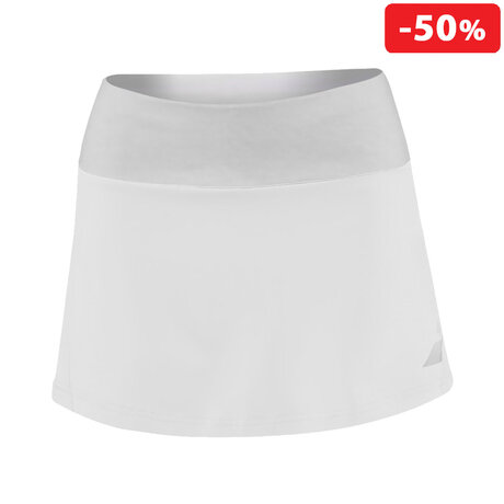 "Детска пола Babolat Performance 13"" Skirt (бяла)"