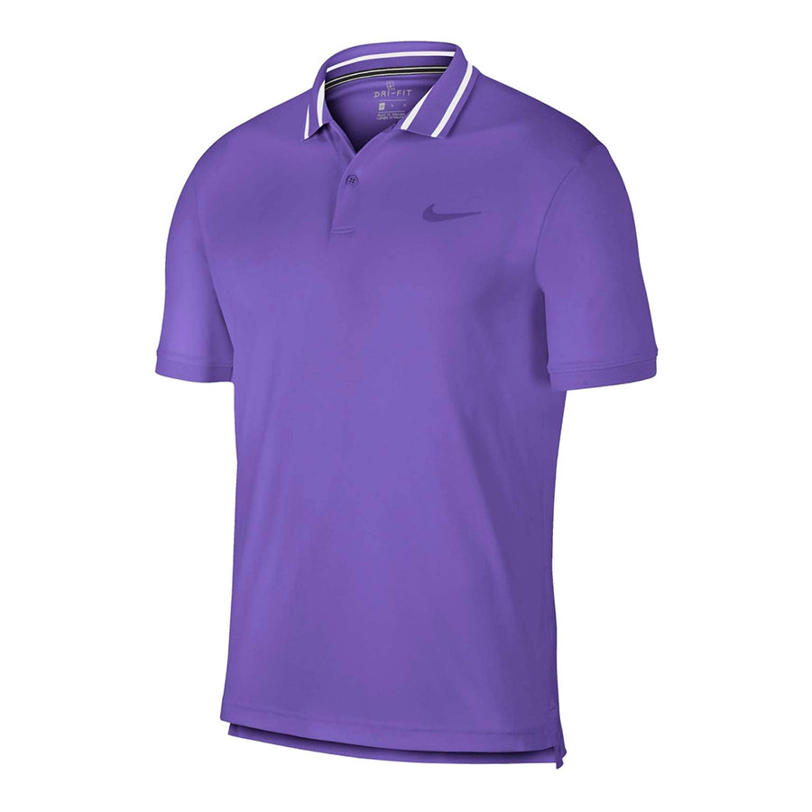 Поло Nike Court Dri-FIT Pique Polo (лилаво)
